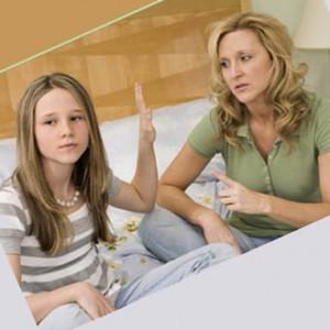 подросток  отстраняется от родителей