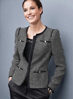 пиджак шанель для офиса