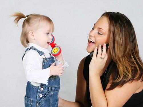 играя учим детей говорить