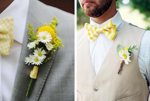 жених на ромашковой свадьбе